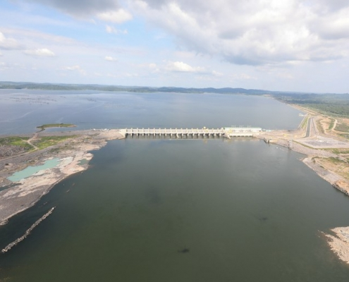 Usina de Belo Monte, na Bacia do Xingu