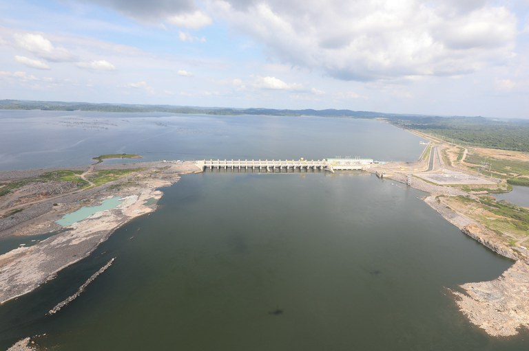Usina de Belo Monte, na Bacia do Xingu