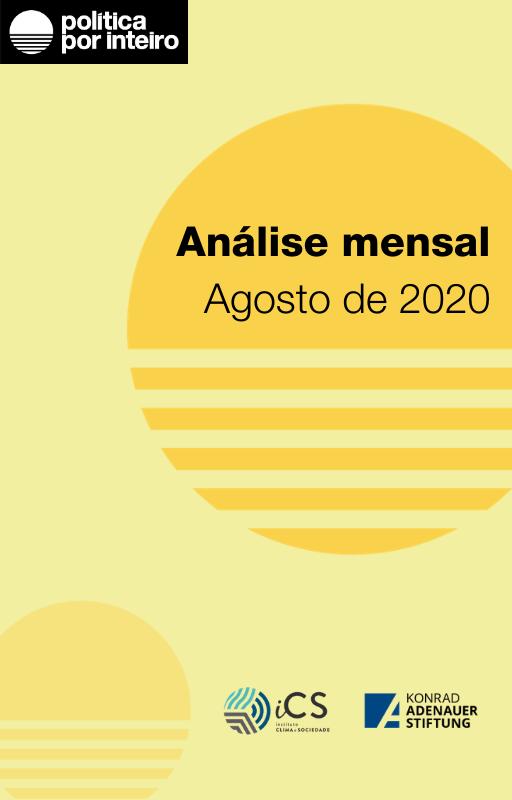 Capa da análise mensal - agosto de 2020