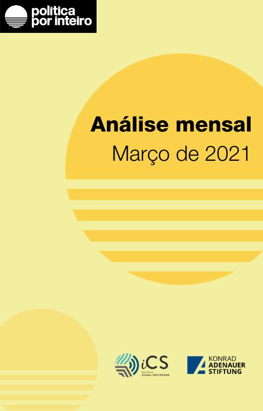 Capa da Análise Mensal - março de 2021